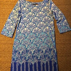 Lilly P! 3/4 length sleeve dress